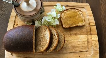 Georgian Bay Honey - Honey Whole Wheat Bread Recipe